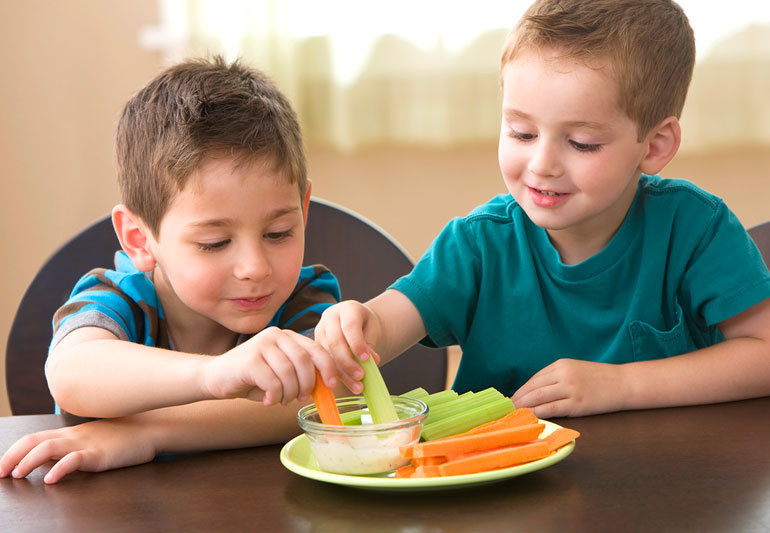 Want to Serve Healthy Food for Children